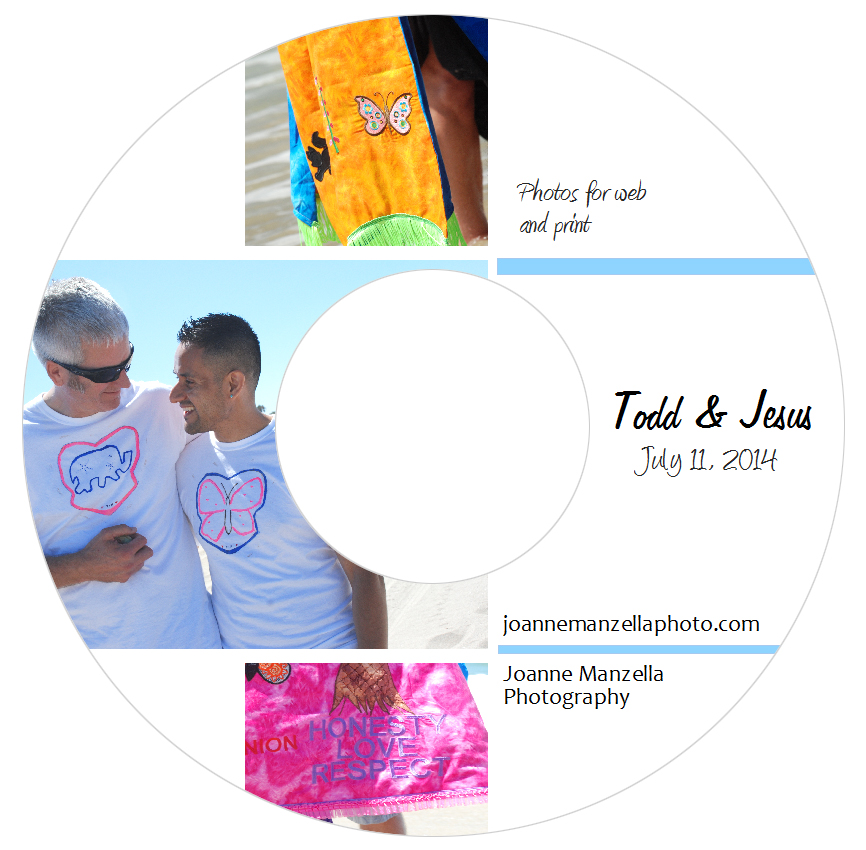 Joanne Manzella Photography - CD Label