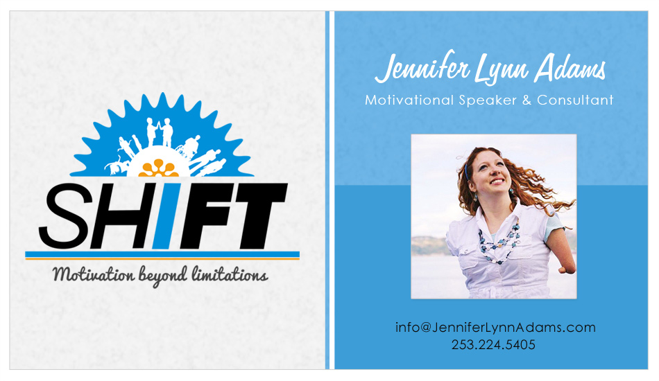 SHIFT - Business Card FRONT